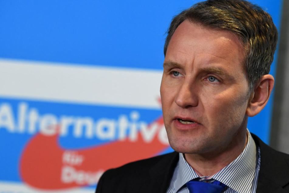 Björn Höcke und seine AfD in Thüringen sind mit ihren Antrag gescheitert.