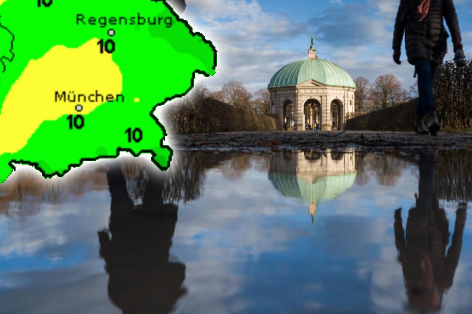 Am Wochenende setzt sich in Bayern vermehrt die Sonne durch. (Symbolbild)
