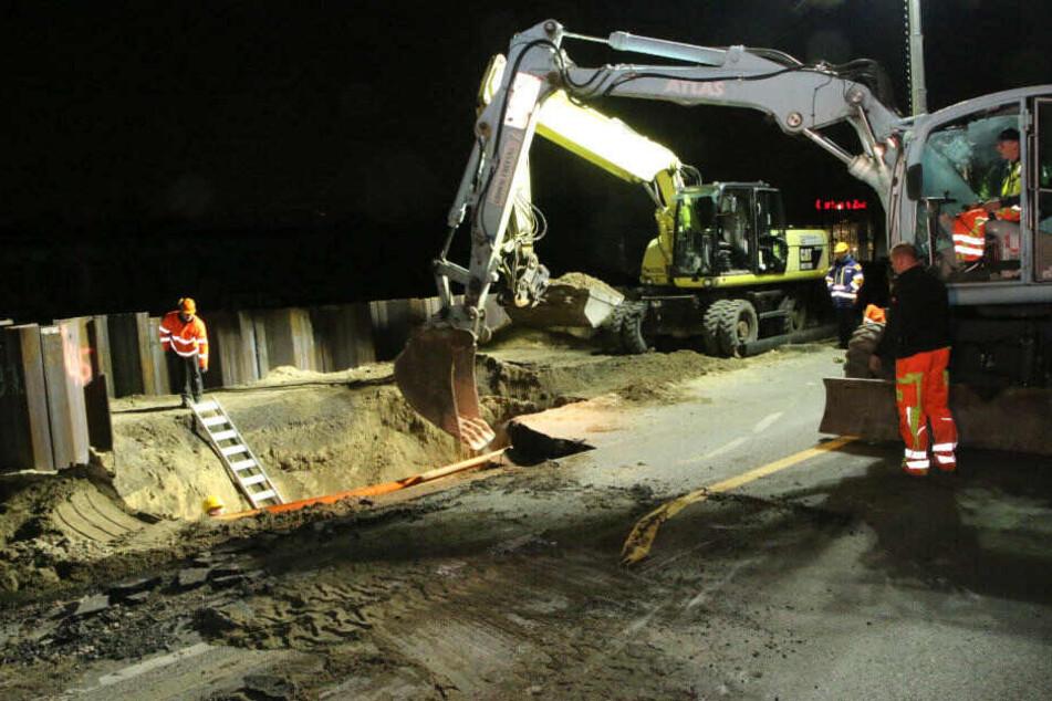 Bohr-Desaster: Mega-Loch dreht über 30.000 Haushalten den Saft ab