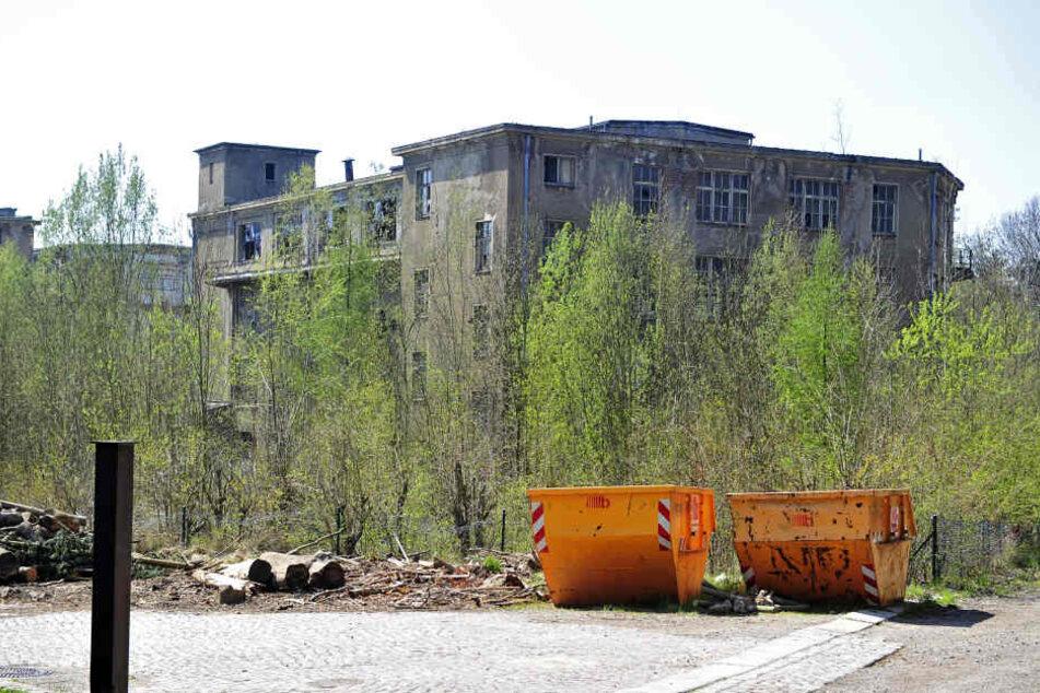 Die alte Galvanik am Tierpark soll endlich abgerissen, das Gelände saniert werden.