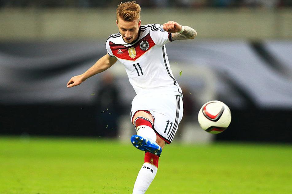 Kann er seine Stärken bei der WM einbringen? BVB-Spieler Marco Reus.