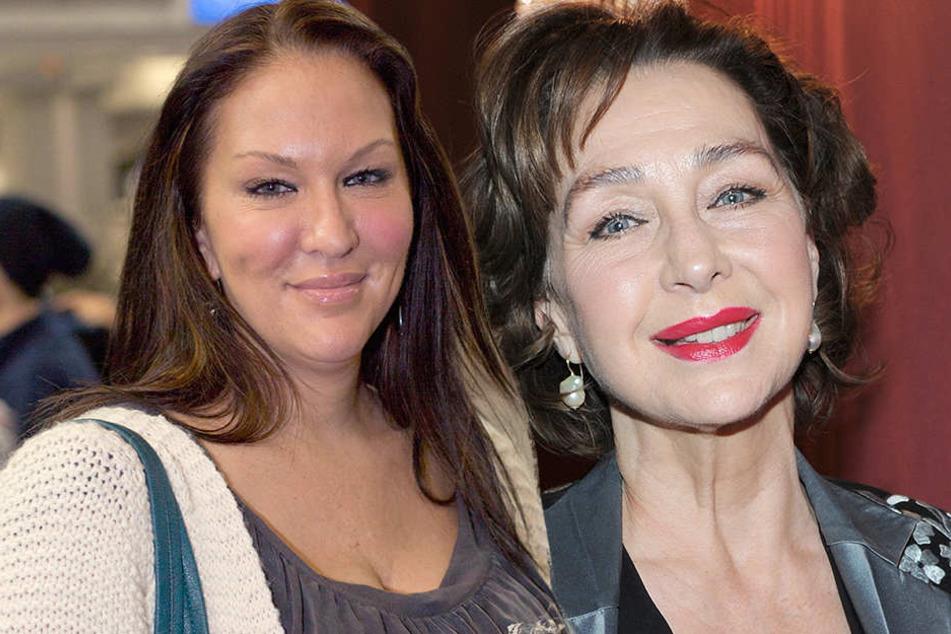 Tochter Allegra Curtis (50, li.) und Christine Kaufmann (72).