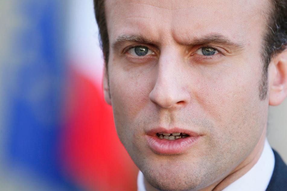 Große Aufgaben kommen auf den neuen Präsidenten Macron zu.