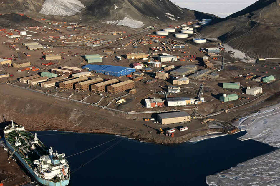 Pilot überfliegt Forschungsstation in der Antarktis: Was er dann findet, ist grausam
