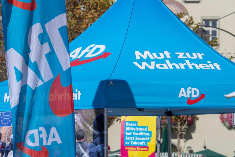 Vor der Landtagswahl in Bayern gibt es innerhalb der AfD Konflikte. (Symbolbild)
