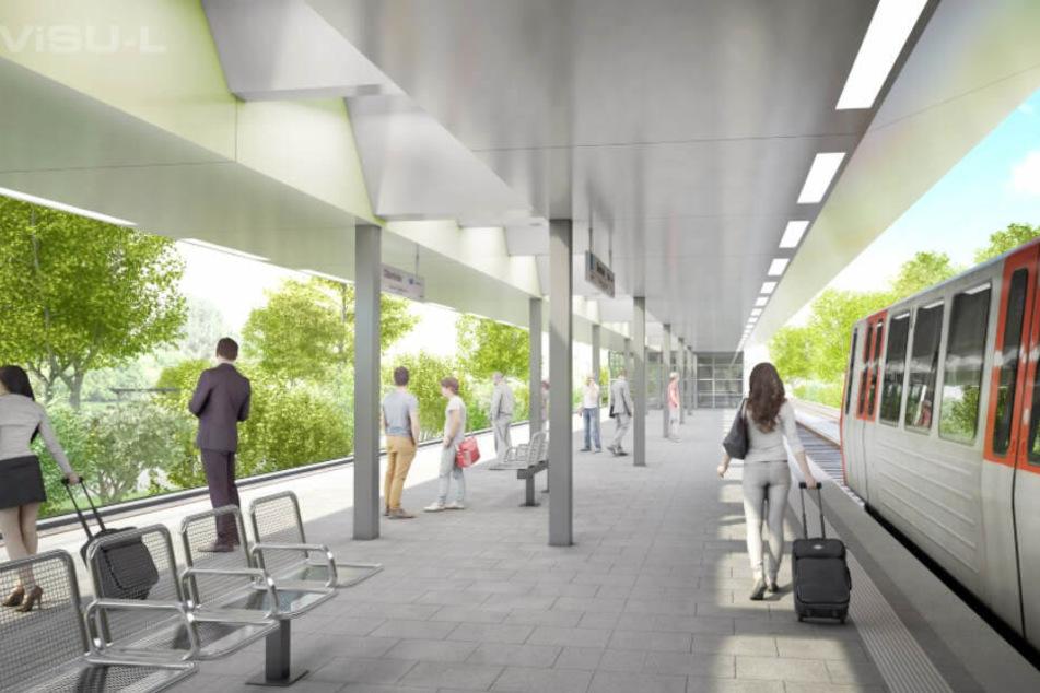 Hamburger Hochbahn eröffnet neue U-Bahn-Station