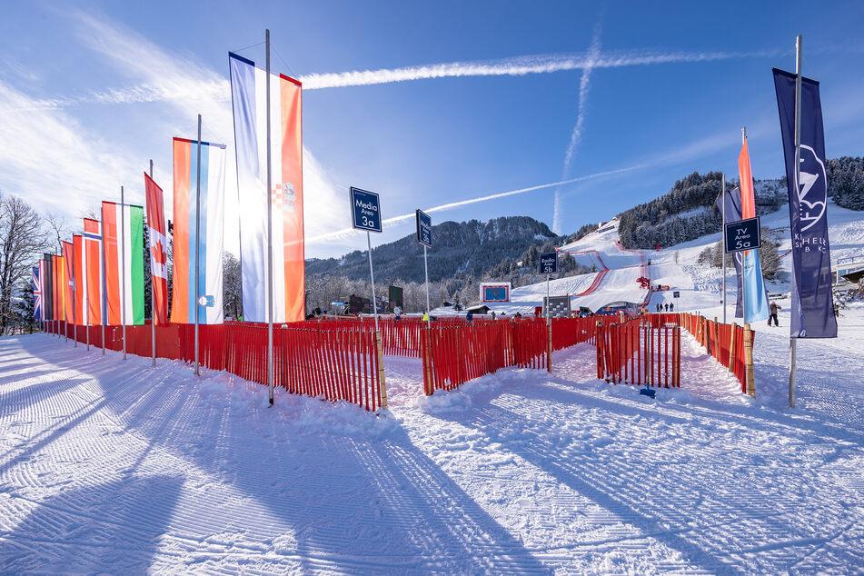 Hahnenkamm-Abfahrt in Kitzbühel für heute abgesagt
