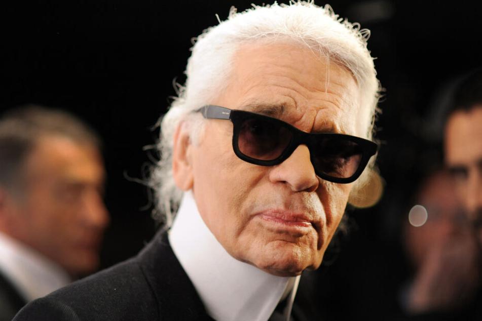 Der deutsche Modezar Karl Lagerfeld starb 2019 im Alter von 85 Jahren.