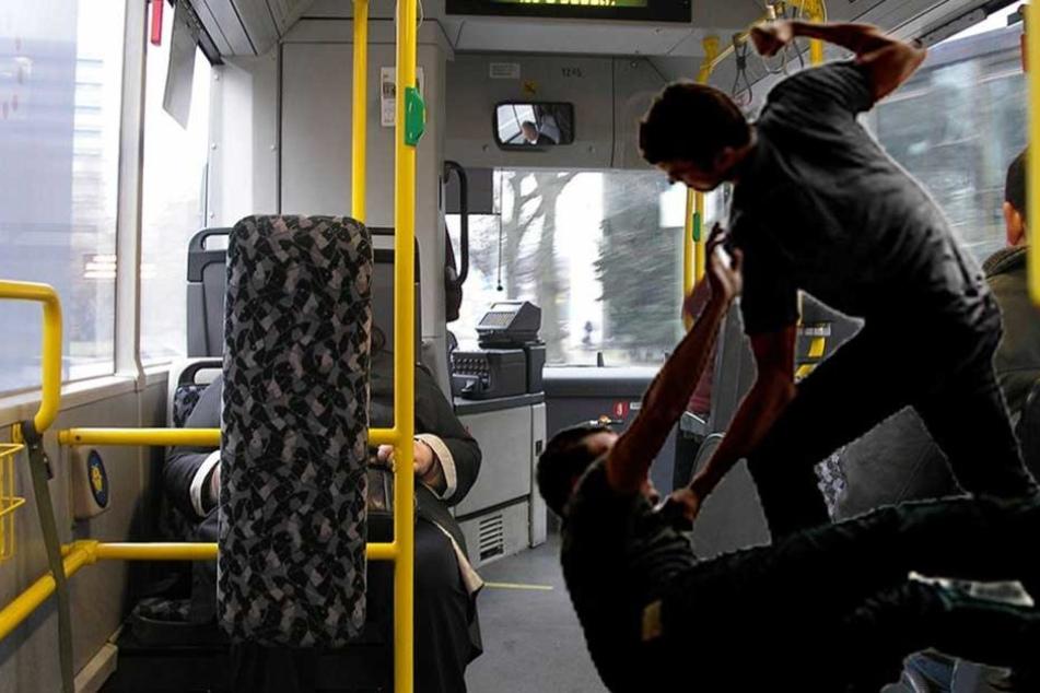 Mann schlägt Busfahrer und zeigt ihn dann an