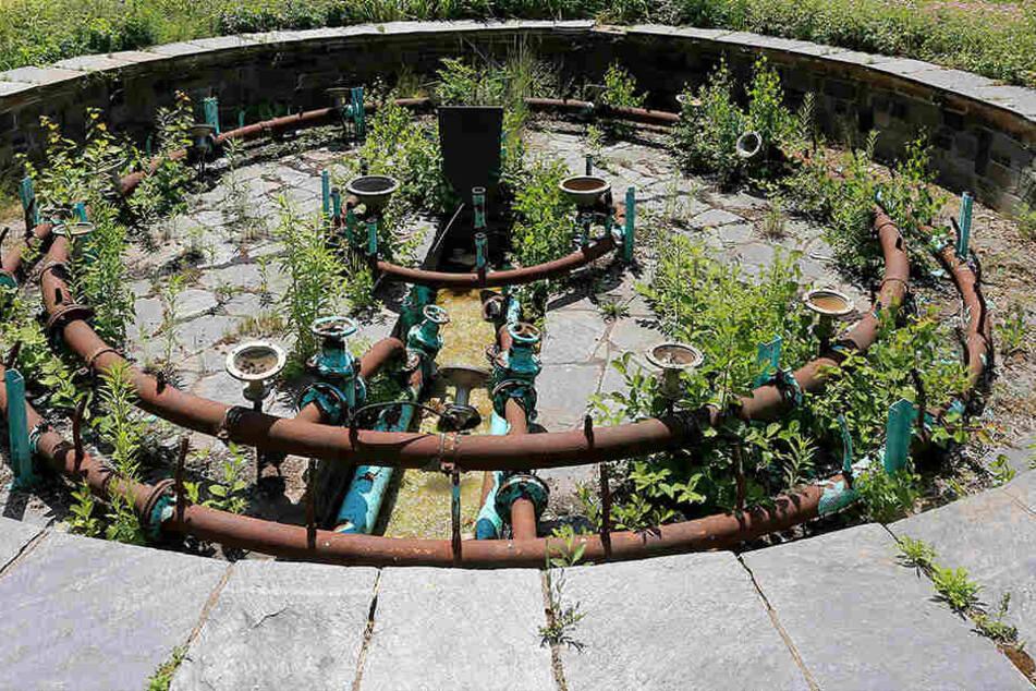 Stadt lässt denkmalgeschützte Fontäne lieber vergammeln als erneuern