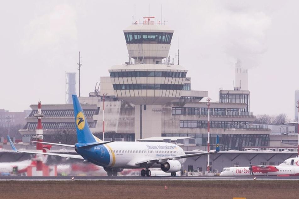 Am Flughafen Tegel gibt es kaum Störungen, trotz Überlastung.