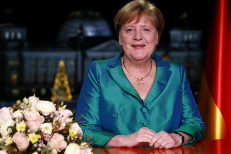 """Angela Merkel ruft zu Zuversicht auf: """"20er Jahre können gute Jahre werden"""""""