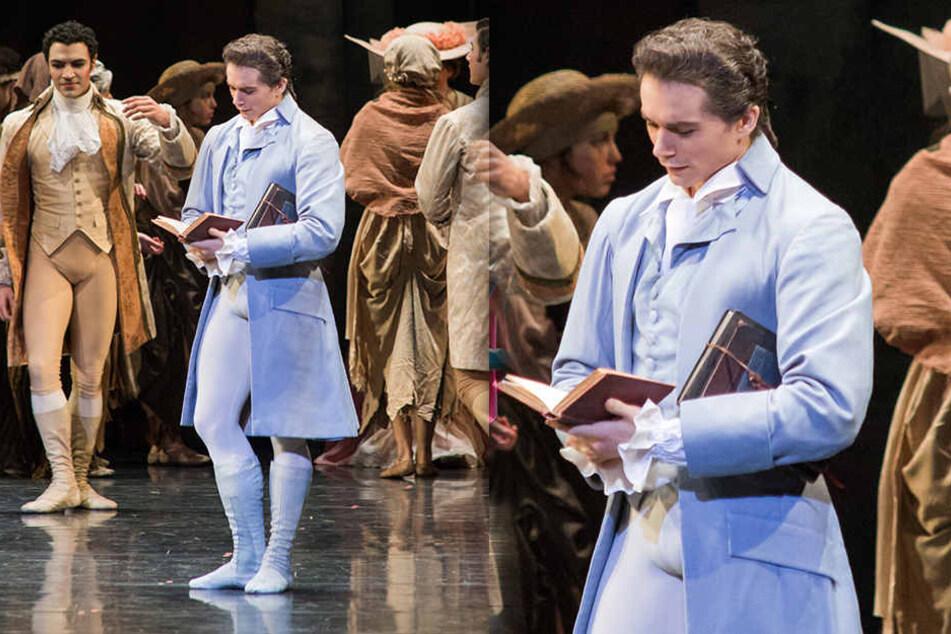 """Simon in """"Manon"""". Er wirft dem Ersten Ballettmeister """"verbale sexuelle Belästigung"""" vor."""