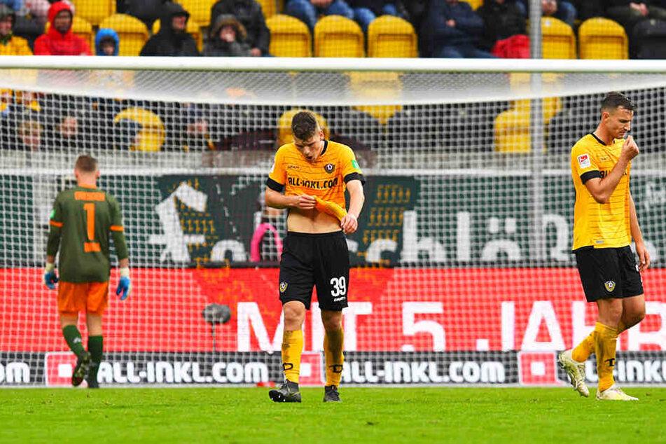 Dynamo Dresden kassierte bereits 18 Gegentore in neun Spielen.