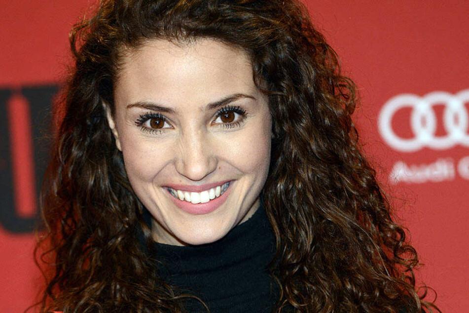 Mit ihrer Haarpracht ist Nadine Menz ein echter Blickfang.