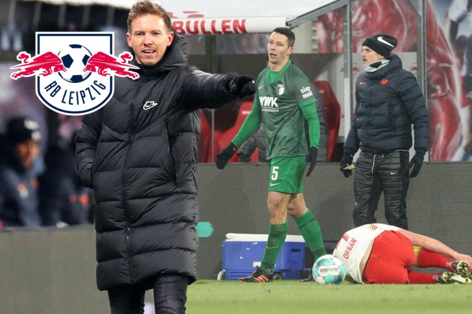"""RB Leipzigs Nagelsmann wettert: """"Das ist dunkelrot, der kommt acht Stunden zu spät!"""""""