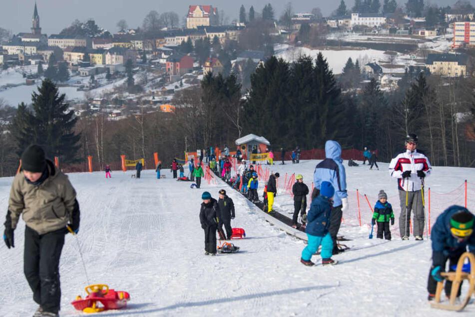 Ski- und Rodel-Spaß! Vogtland startet in die Wintersaison