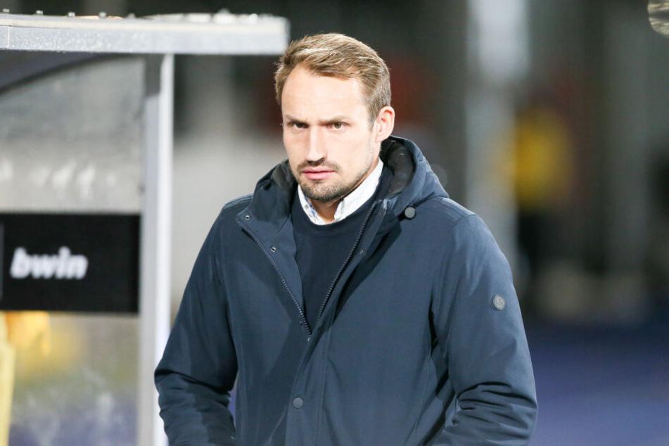 Auch FSV-Sportchef Toni Wachsmuth war nach der unnötigen Pleite angefressen.