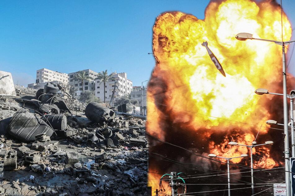 Israel: Schon mehr als 2000 Raketen aus Gazastreifen abgefeuert