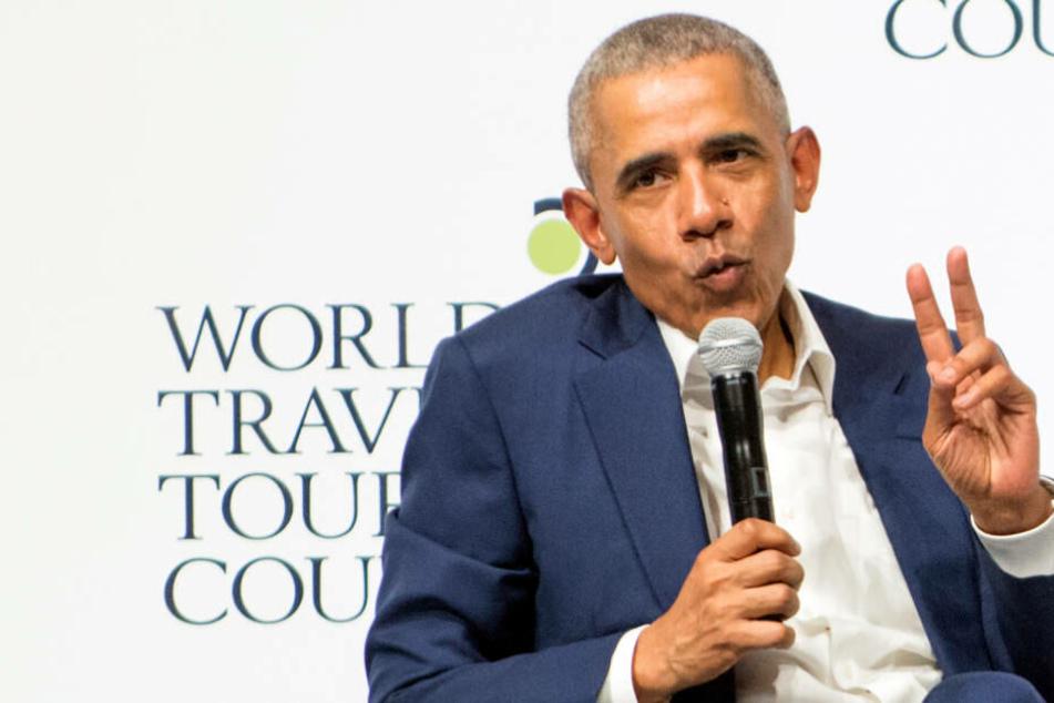Besuch von Barack Obama: Ehemaliger US-Präsident in Köln gelandet