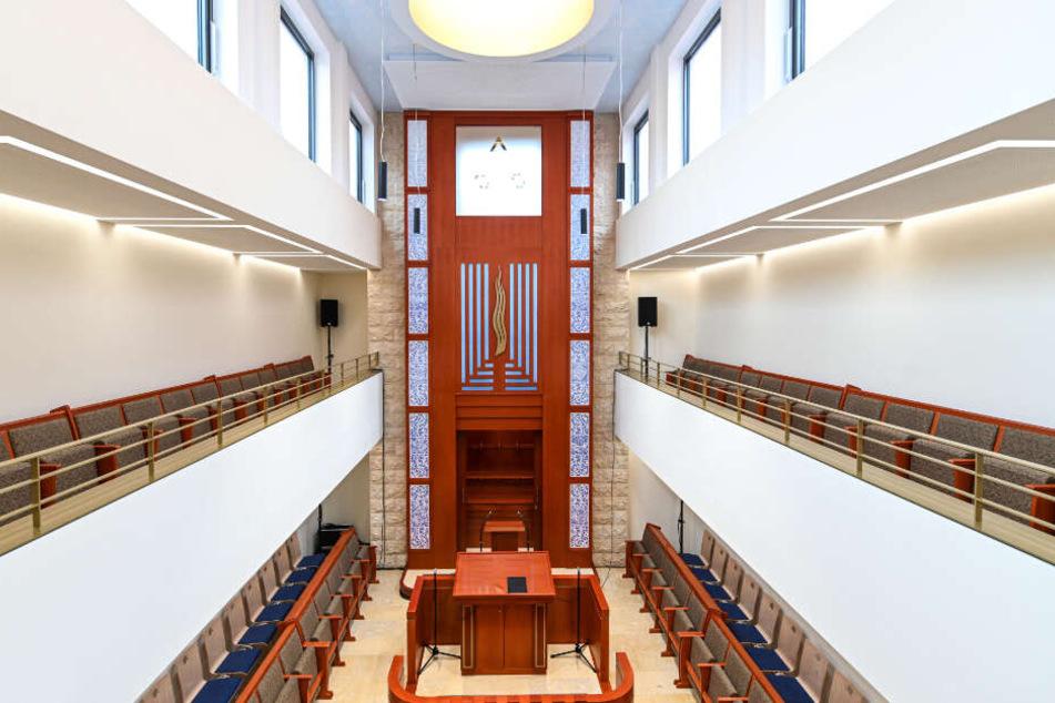 Blick in die neue Synagoge der Synagogengemeinschaft in Konstanz.
