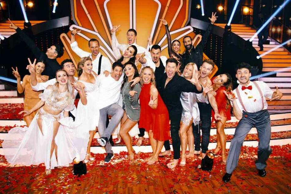 Diese Profi-Tänzer traten in der Special-Ausgabe der Tanzshow an.