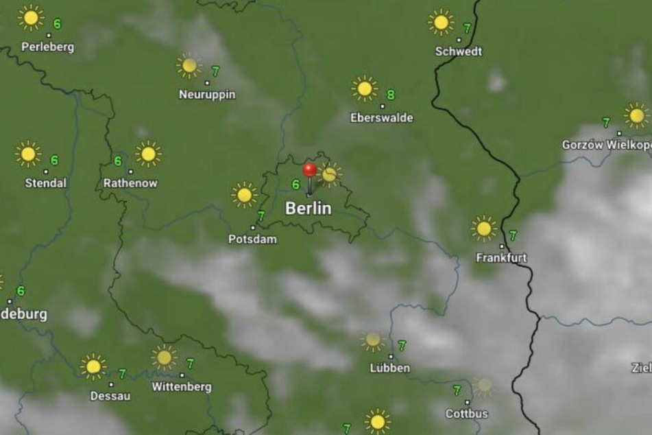 Viel Sonne in Berlin und Brandenburg.