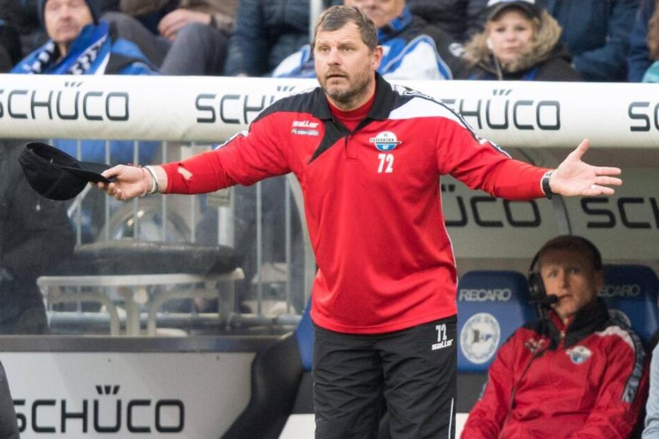 Steffen Baumgart ist sich sicher: Seine Mannschaft kann jedes Spiel in der 2. Liga gewinnen.