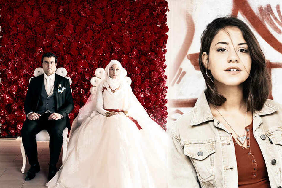 Zwangsheirat: Aynur (M. und r., Almila Bagriacik) muss mit 15 Jahren in Istanbul ihren Cousin Ismail zum Mann nehmen. (Bildmontage)
