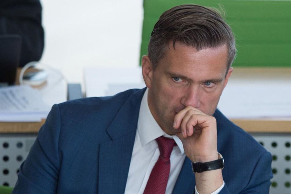 Sachsens Energieminister Martin Dulig (44, SPD)