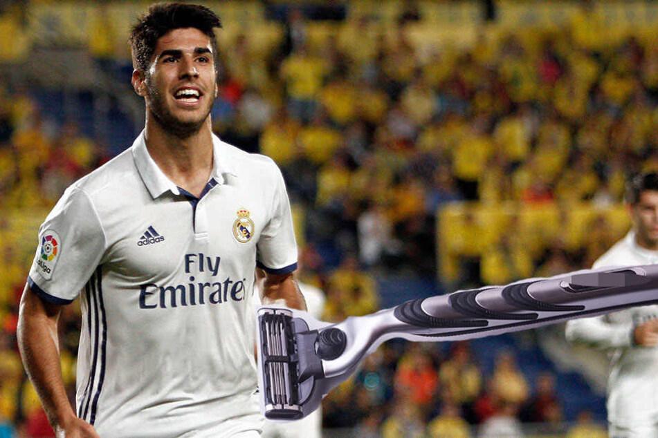Real-Star rasiert sich die Beine: Jetzt kann er nicht mehr Fußball spielen