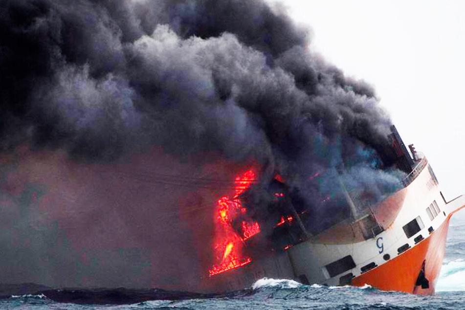 Schiffskatastrophe vor Frankreich: Abpumpen von rund 2200 Tonnen Schweröl bisher nicht möglich!