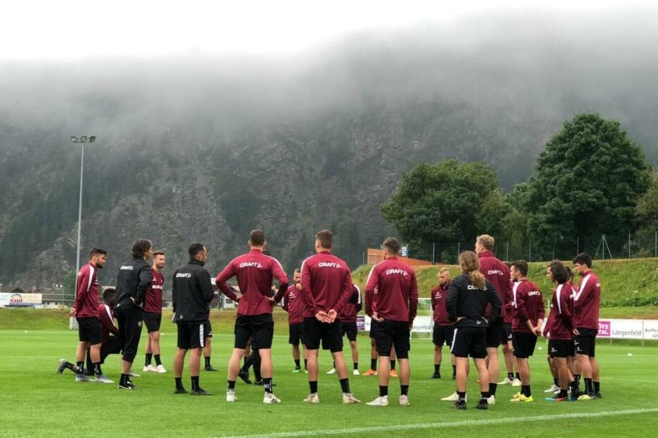 Cristian Fiel konnte am Dienstag fast alle Mann wieder im Training begrüßen.