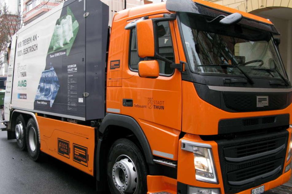In der Schweiz entsorgen bereits vier E-Fahrzeuge den Müll.