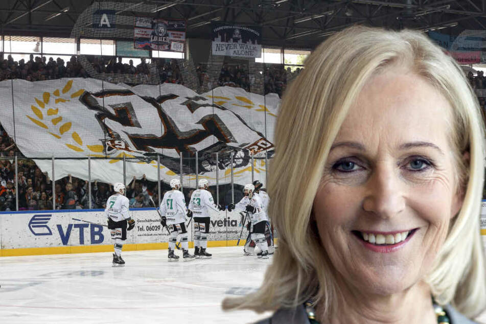 Bernadette Weyland will die Frankfurter Sportlandschaft umkrempeln. (Fotomontage)