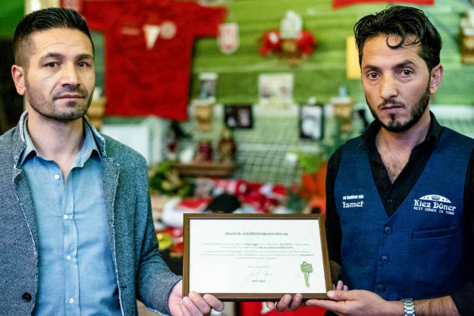 Beschlossene Sache nach Halle-Anschlag: Kiez-Dönerladen wurde verschenkt