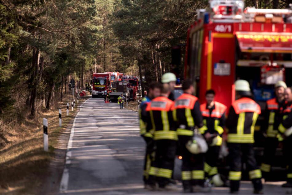 In Bayern drohen in weiten Teilen schwere Waldbrände. (Symbolbild)