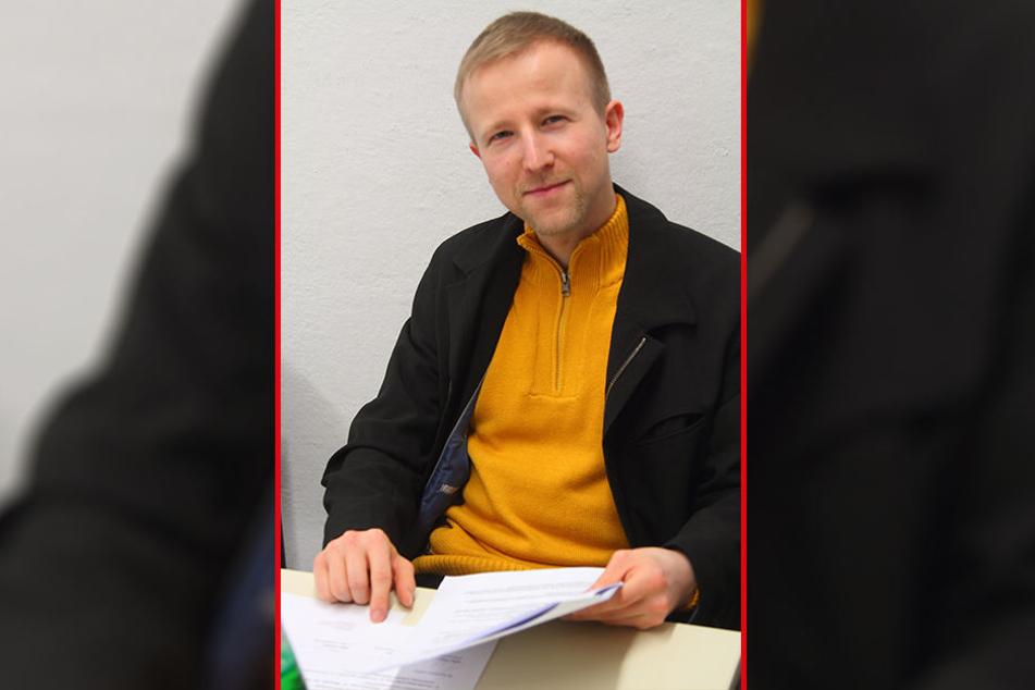 Stadtrat Gordon Engler (33, AfD).