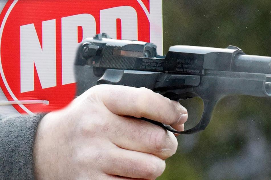 Müssen nun bald alle NPD-Funktionäre ihre Waffen abgeben (Symbolbild)?