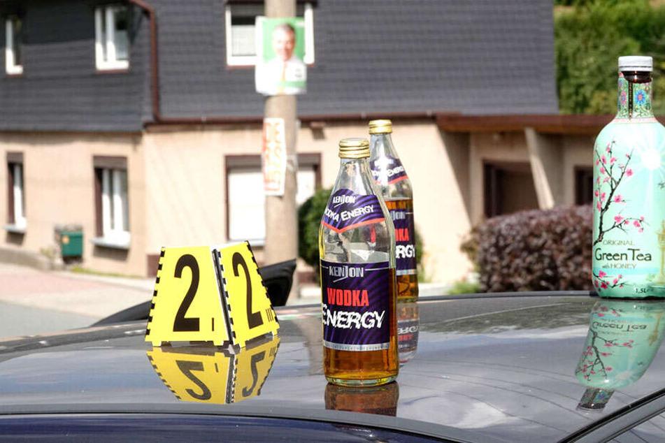 Hat einer der beiden Fahrer Wodka Energy konsumiert?