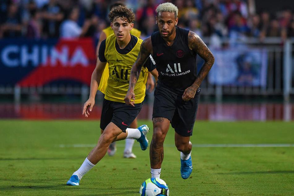Bleibt vorerst in der Stadt der Liebe: Der 97-fache brasilianische Nationalspieler Neymar.