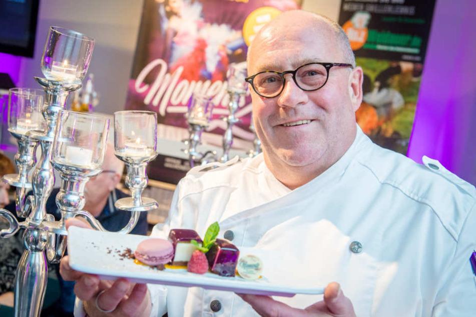Passend zur neuen Show sorgt Küchenchef Andreas Kirsch (58) mit seinem Vier-Gänge-Menü für ein Geschmacksfeuerwerk.