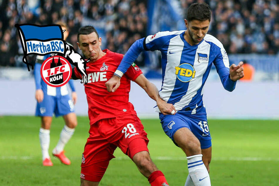 Hertha BSC mit Offenbarungseid! Berlin geht gegen Köln unter: Bitteres Debakel zur Heimpremiere