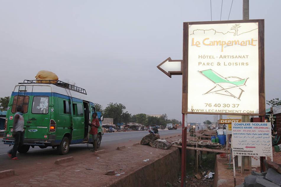 """Zwei Gäste des Ressorts """"Le Campement Kangaba"""" wurden bei dem Angriff getötet."""
