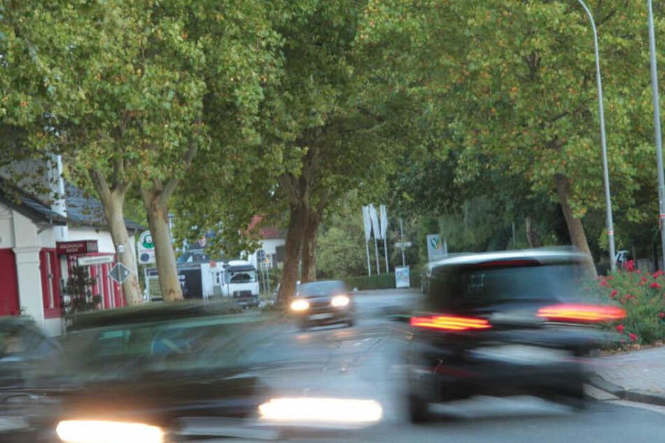 Dieser Bereich der Salzufler Straße ist ab dem 22. Oktober dicht.