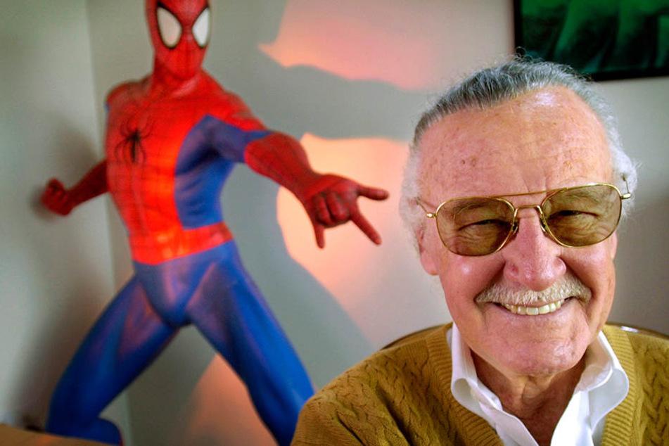 Stan Lee starb am Montag im Alter von 95 Jahren.