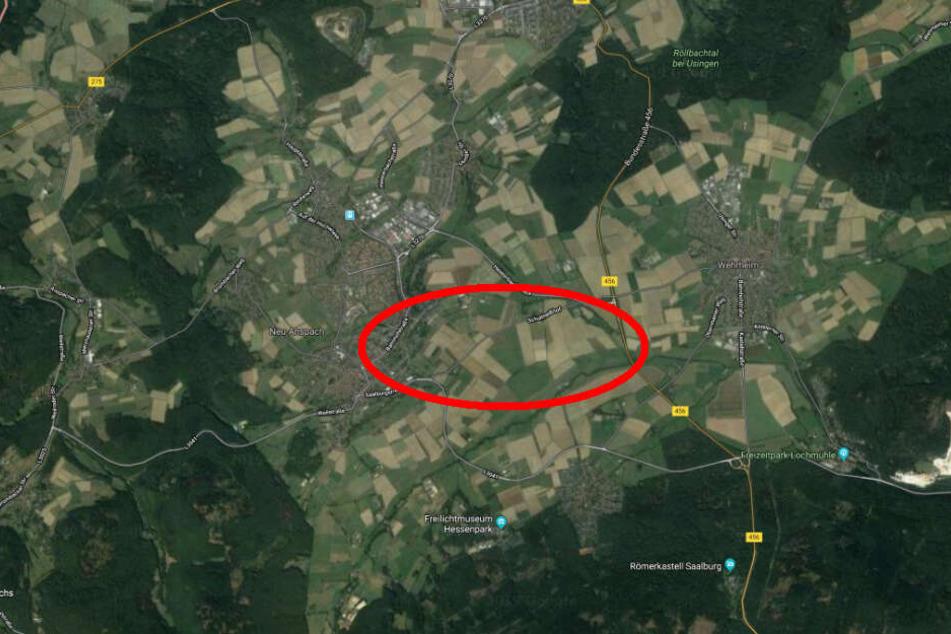Der Unfall passierte auf der L3041 zwischen Wehrheim und Neu-Anspach.