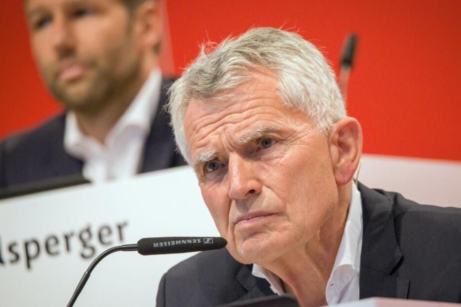 Wolfgang Dietrich trat als VfB-Präsident nach der abgebrochenen Mitgliederversammlung im Juli zurück.