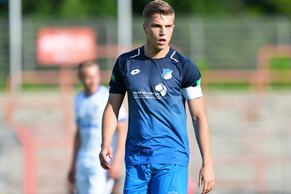 Stürmer David Otto ist einer der Gewinner der Vorbereitung bei der TSG Hoffenheim.