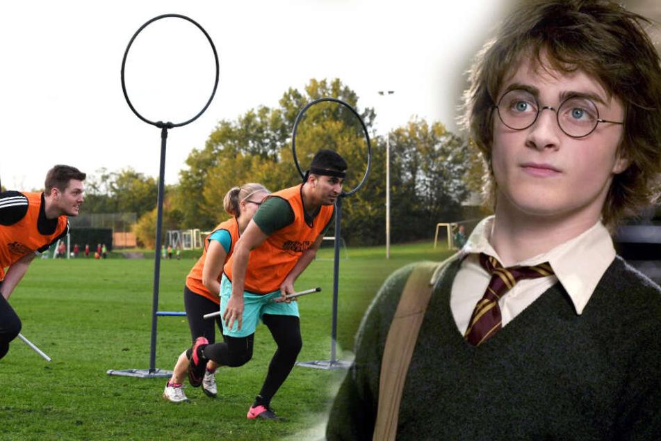 Quidditch-Teams aus ganz Europa treffen sich in Leipzig